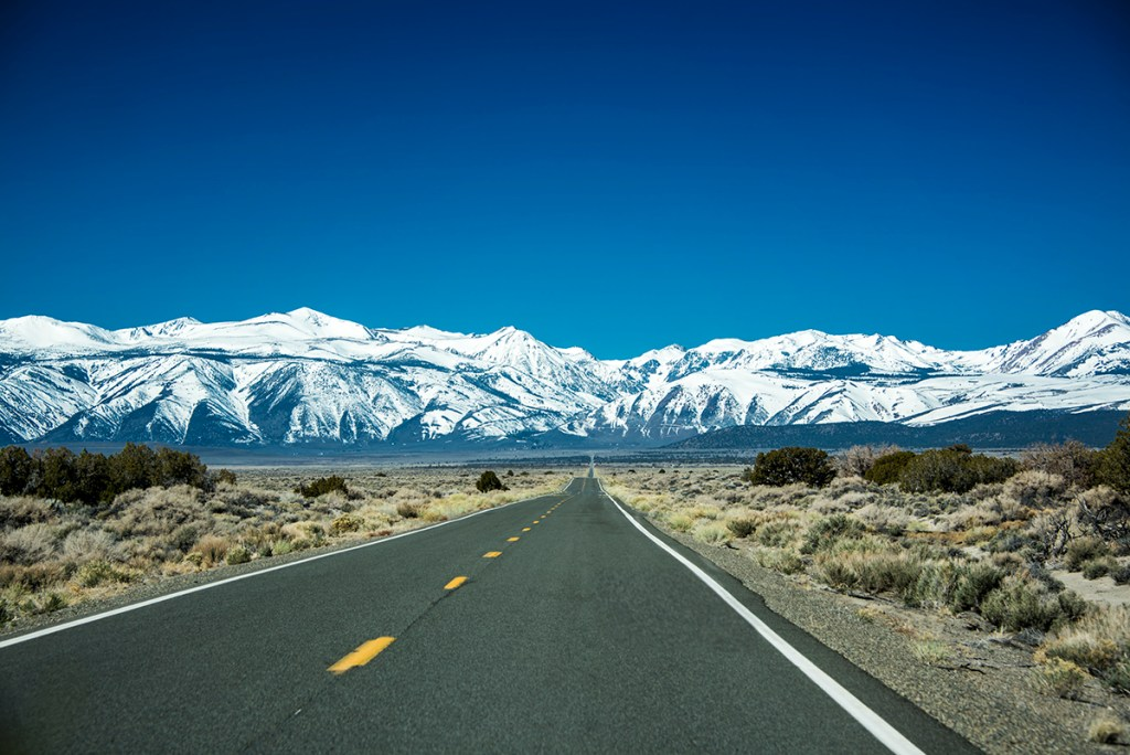 Sierra Nevada Mountains Nevada To California Traveling Huntleys