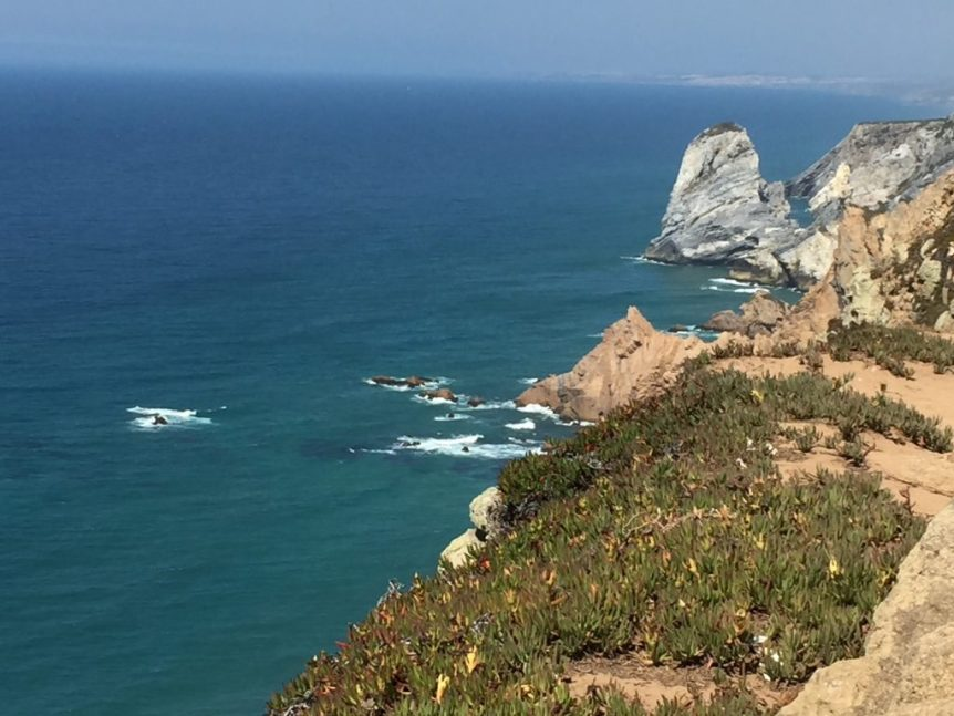 The furthest western point of continental Europe -- Cabo da Roca