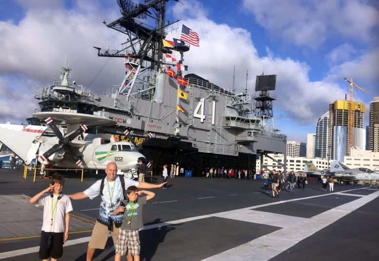 Aircraft Carrier Midway San Diego