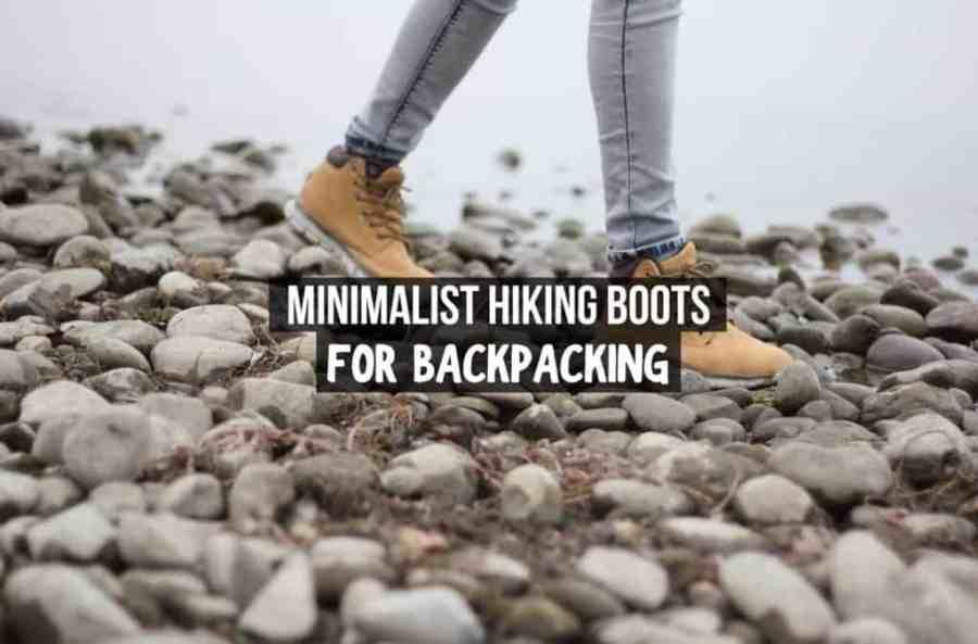minimalist hiking boots