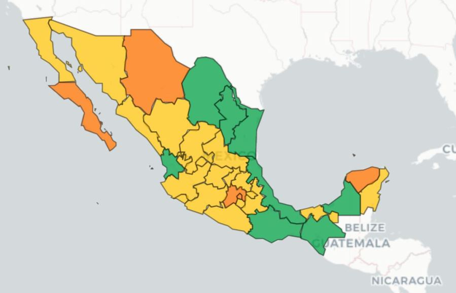 Baja California COVID-19 cases