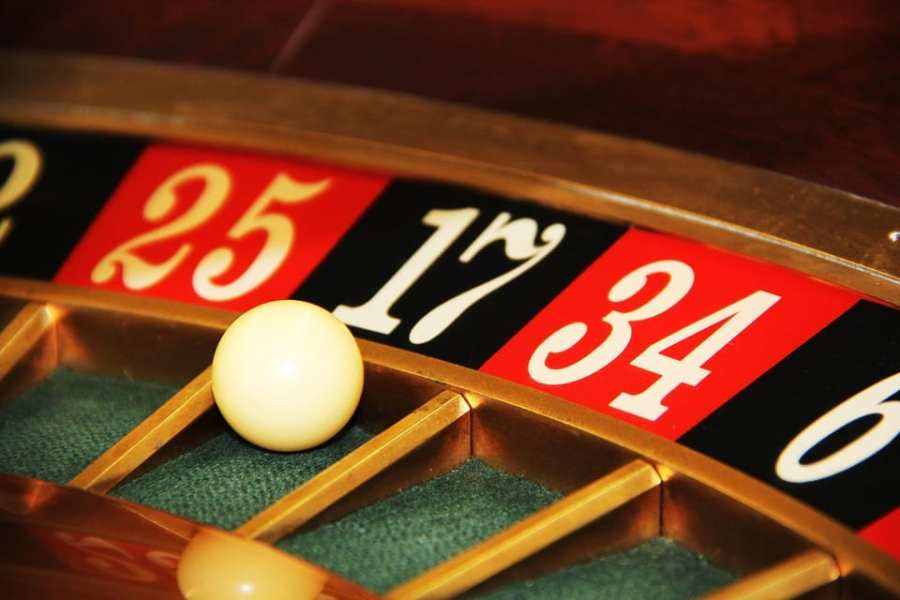 Roulette in las Vegas, Nevada