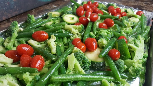 Roasting Low Carb Vegetables - Great Side Dish!