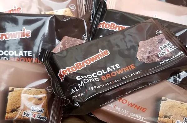 Keto Blondie and Keto Brownie Review