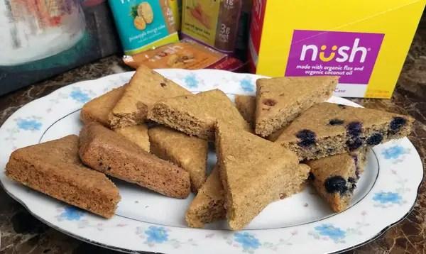 Taste Testing new NUSH organic Low Carb, Gluten Free Keto Cakes