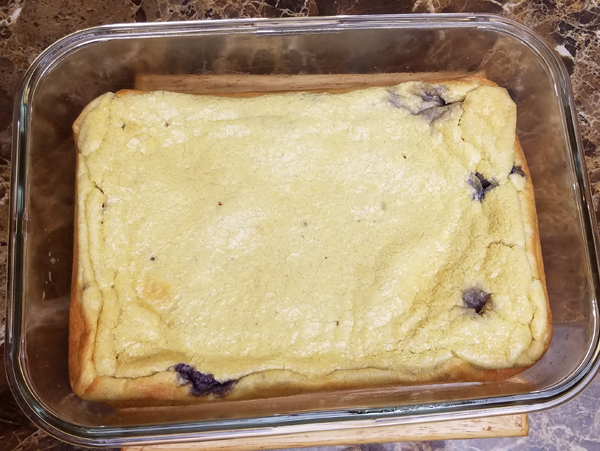 Blueberry Egg Loaf Recipe - Keto Breakfast Ideas