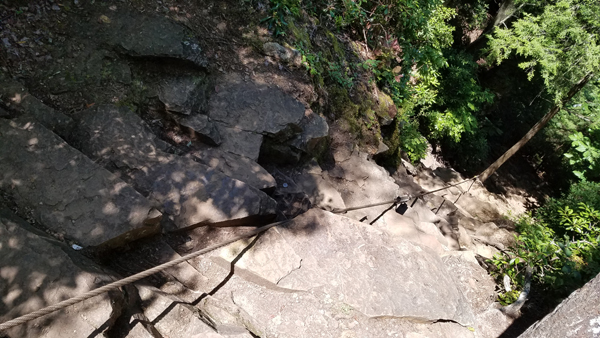Canke Creek Falls Cable Trail