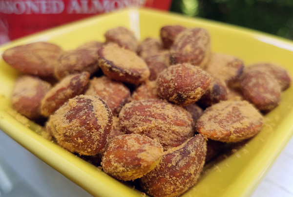 Legendary Seasoned Almonds - Low Carb and Keto Friendly Snacks