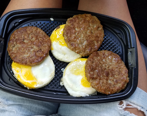 Keto on the road - McDonald's Low Carb Fast Food Ideas