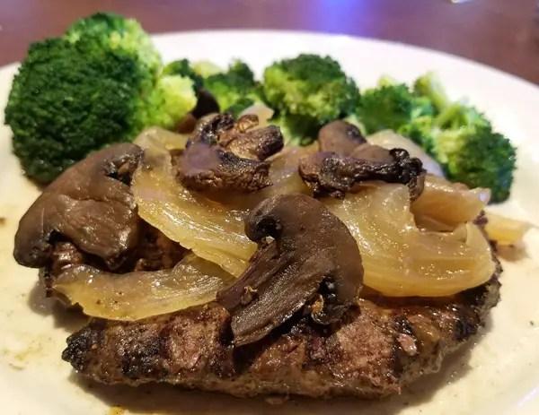 Logan's Roadhouse Chopped Steak