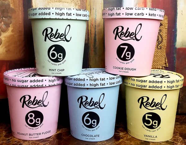 Rebel Creamery Keto Ice Cream Review