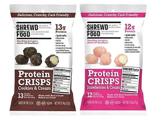 Shrewd Food Protein Crisps