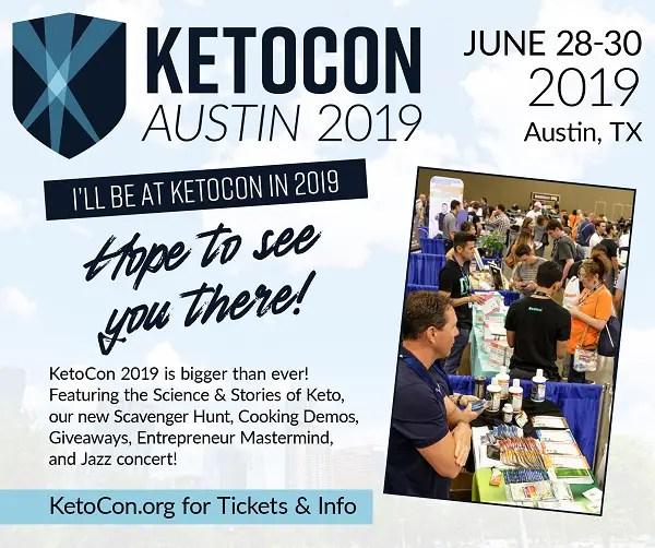 Ketocon 2019 - Keto Conference in Austin TX
