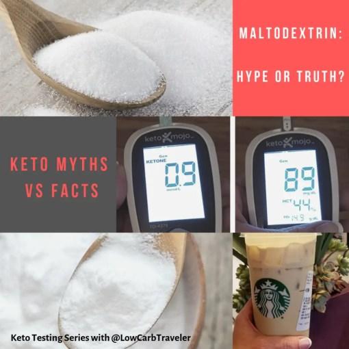 Keto Myths: Maltodextrin Hype or Fact?