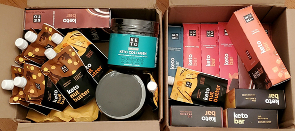 Perfect Keto Unboxing