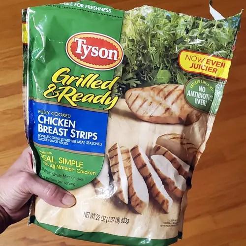 Tyson Frozen Chicken Strips