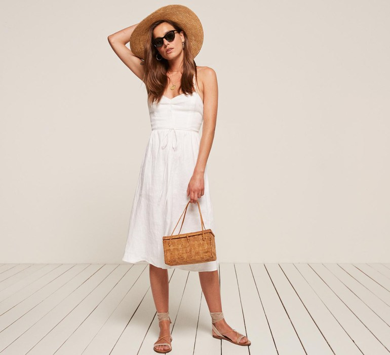 All-White Dress | Photogenic Dress to Travel With This Summer | Summer Wardrobe | Summer Must-Haves
