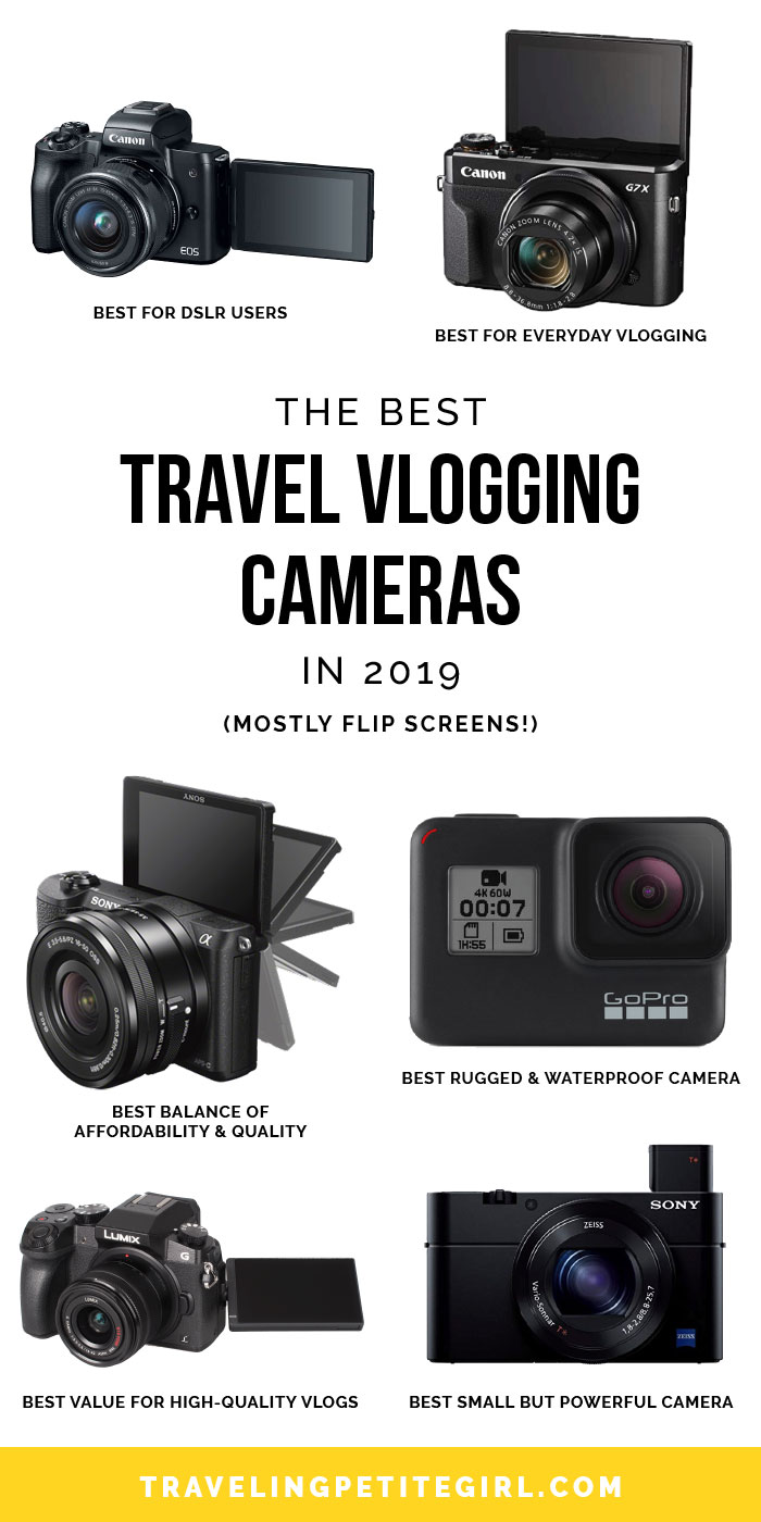 The Best Travel Vlogging Cameras in 2019 - Traveling Petite Girl