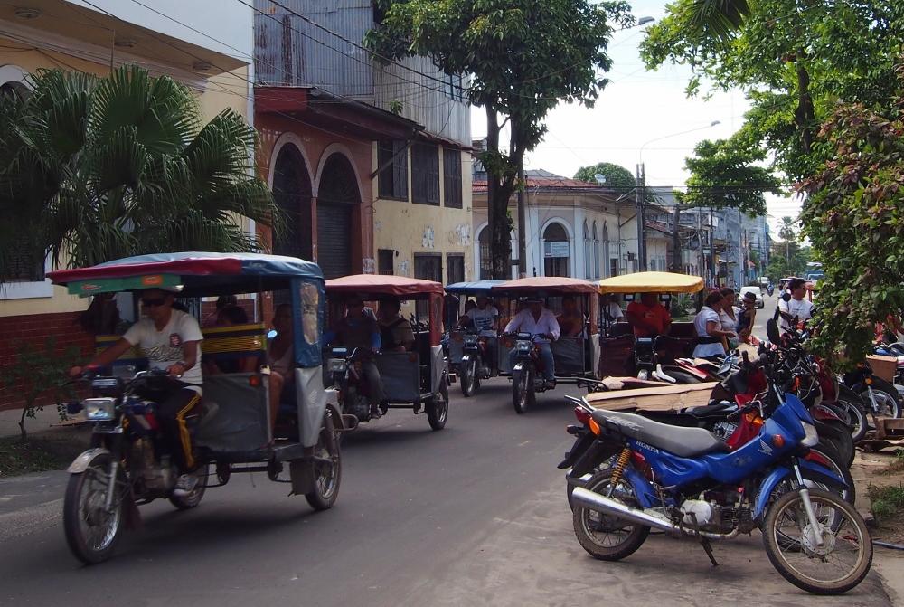 Iquitos, die Stadt der Moto-Taxis