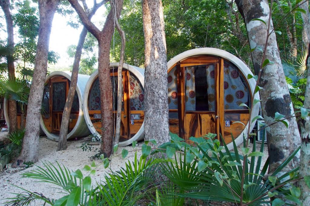 Tube Hostel in Tulum