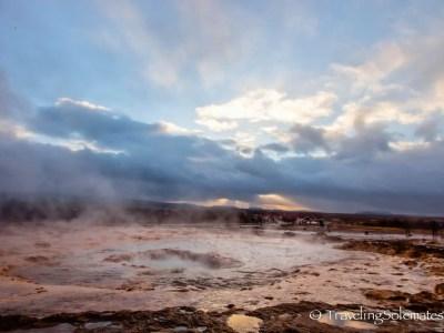 Strokkur Geyser, Golden Circle Tour, Iceland