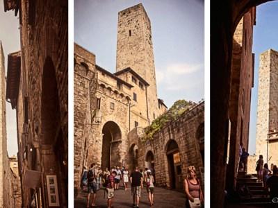 Towers in San Gimigniano, Tuscany, Italy