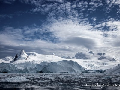 Antarctica Ciera Cove Glaciered Mountain