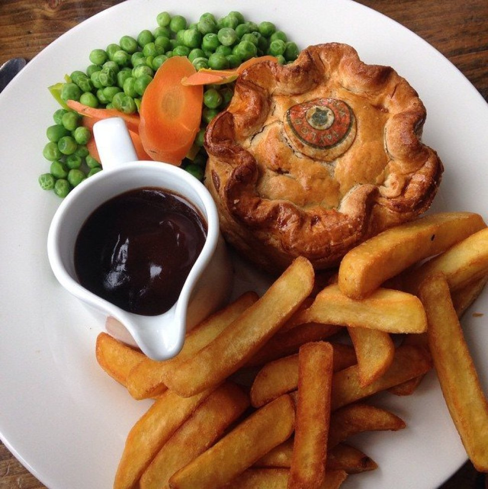 Something about a traditional #englishpie I cannot pass up. #London #ttot #travelblogger