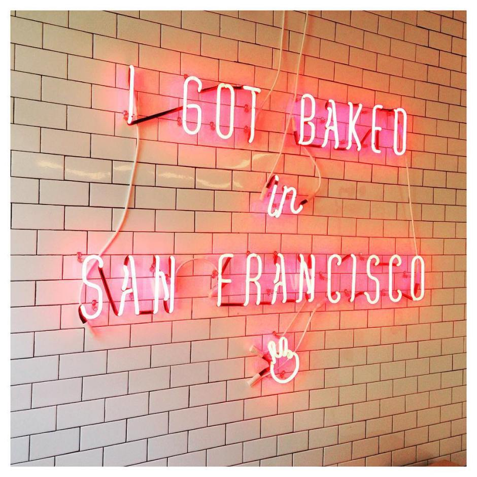 I finally made it to Mr. Holmes Bakehouse in #SF this morning! @mrholmesbakehouse ran out of #cruffins at 8:30am so I missed it, but it was still worth going and seeing their sweet location, sign, boxes and other goodies! #bakedinsanfrancisco