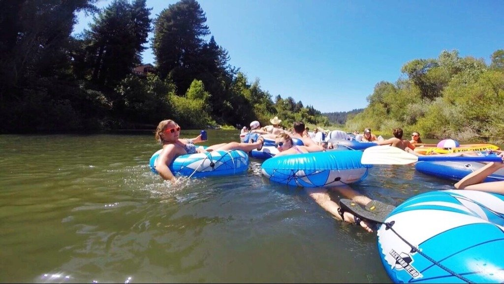 5 Tips for a Russian River Float Trip - Traveling Spud