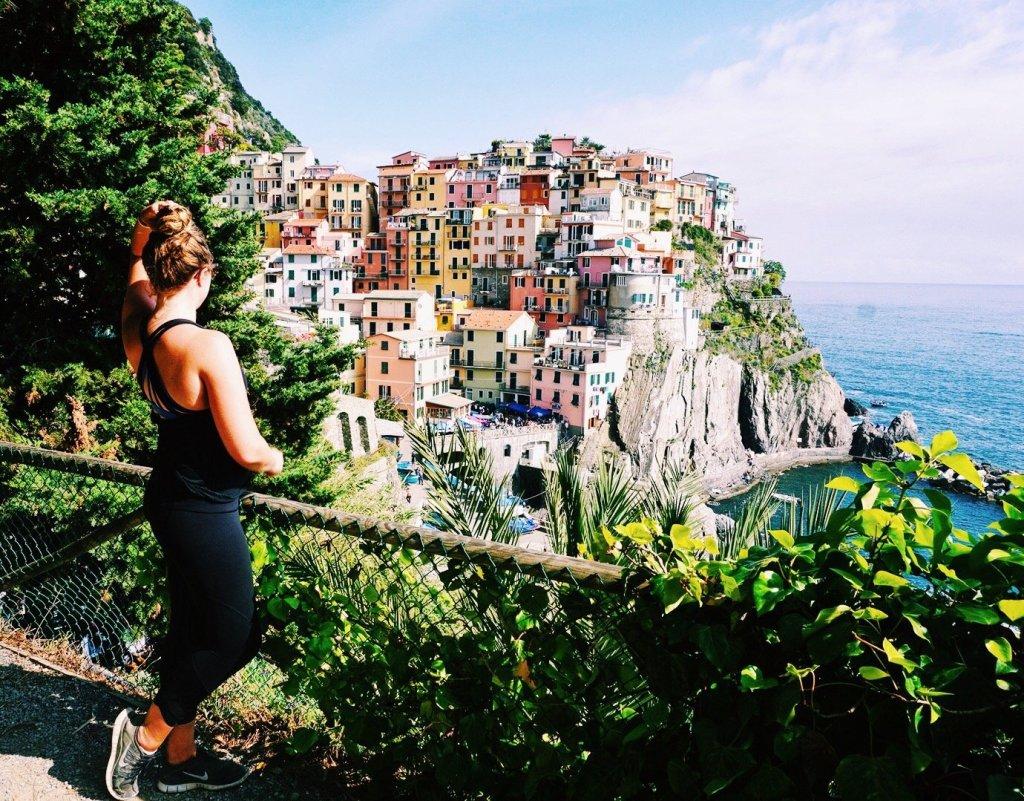 Cinque Terre lookout