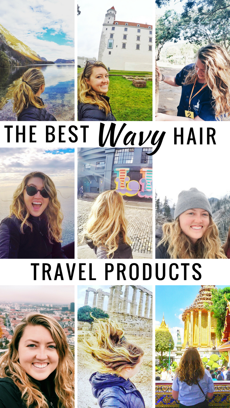 wavy hair travel products