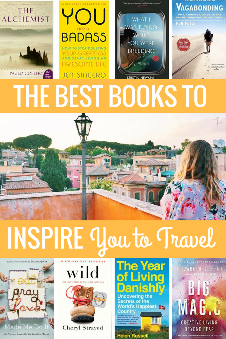 Best Books to Inspire You to Travel