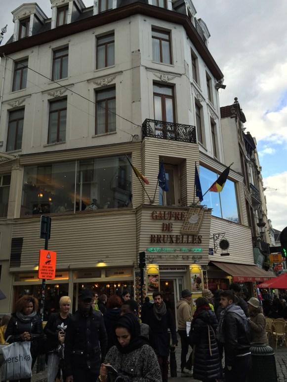Gaufres de Bruxelles