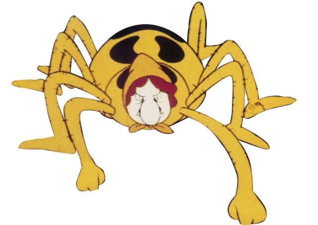 Thekla, die Spinne