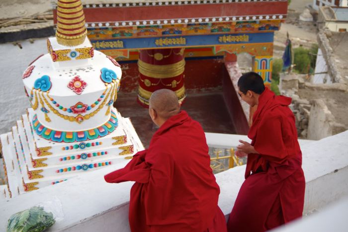 thikse-monks