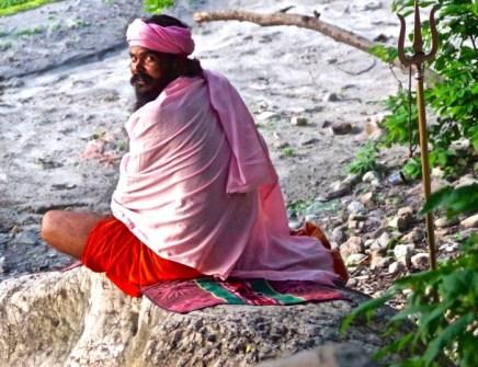 Rishikesh-Sadhu-Dreispitz