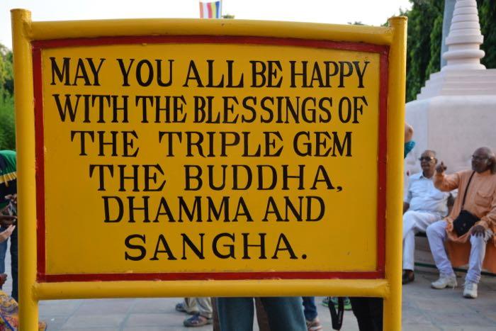Sarnath_Sign_Blessings