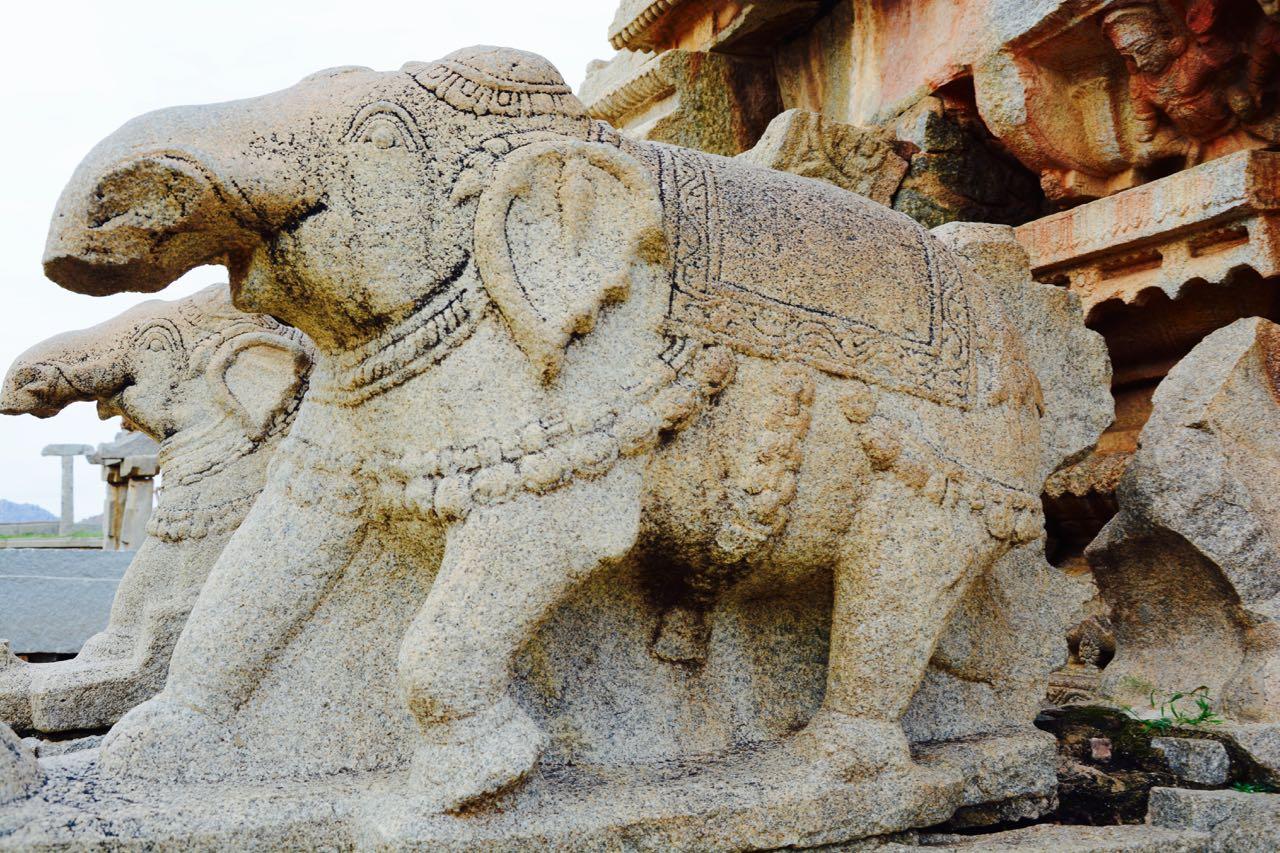 Hampi-Elephants