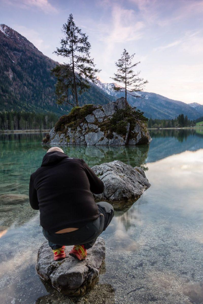 Landschaftsfotografie darf durchaus menschliche Spuren zeigen.