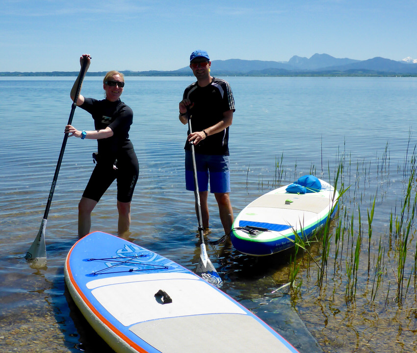 Outdoor SUP Chiemsee Gstadt