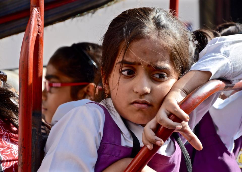 Reisen 2016 Indien Old Delhi Girl