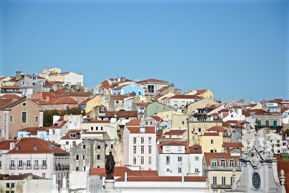 Reisen 2016 Lissabon Skyline