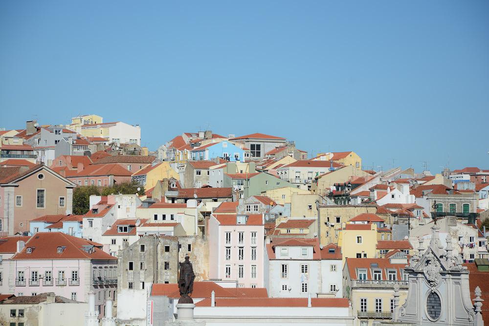 Portugal Lissabon Alfama Dächer