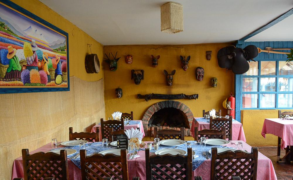 Traveling the World Ecuador Anden Cotopaxi Nationalpark Hacienda El Porvenir Restaurant