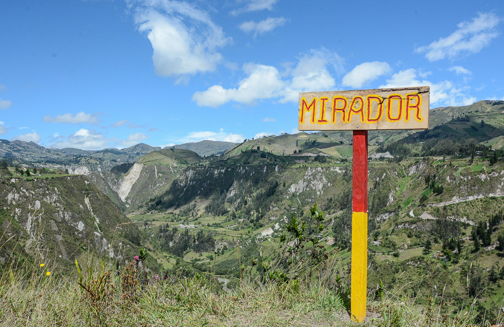 Traveling the World Ecuador Wandern Quilotoa Loop Anden Mirador Toachi Canyon
