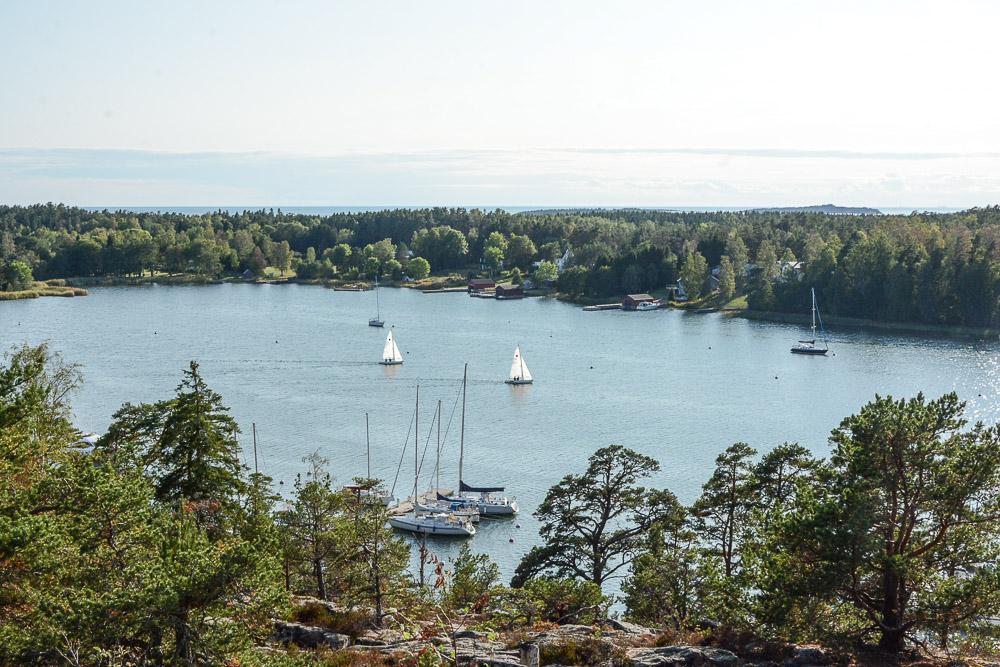 Traveling the World Tallink Silja Aland Islands View Point Bay Mariehamn