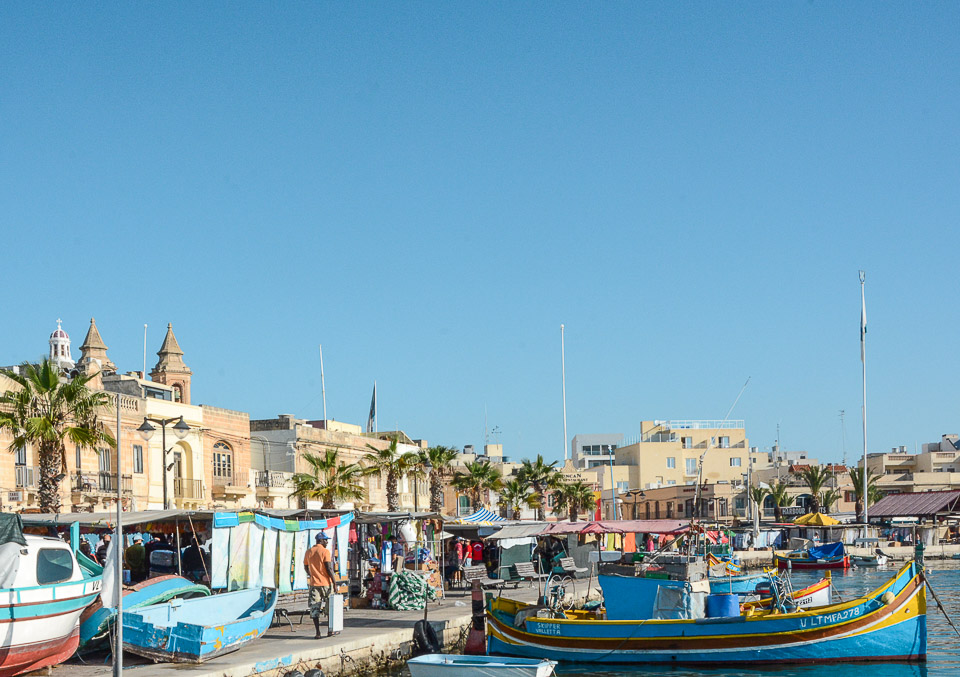 Traveling the World Malta Marsaxlokk