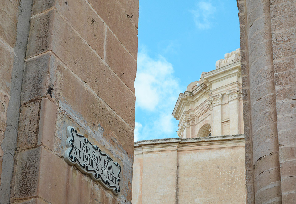 Traveling the World Malta Mdina St. Pauls Cathedral