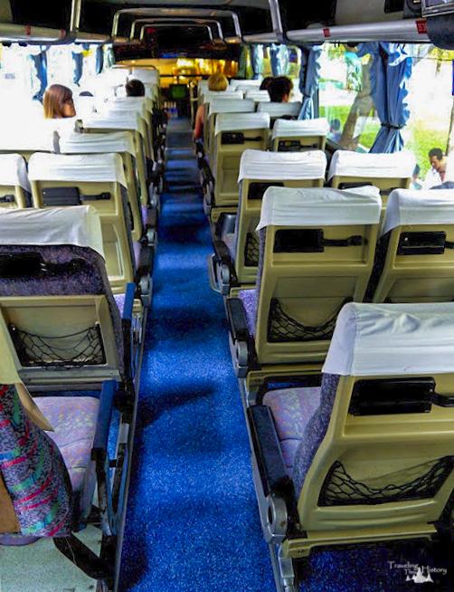 Bus in Cambodia